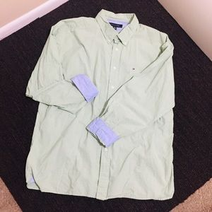 Tommy Hilfiger Men's XL Long Sleeve Button Down